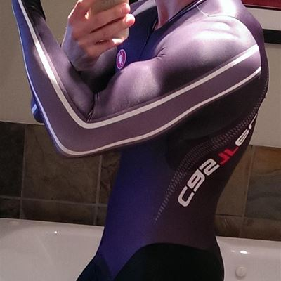 Gay Spandex Lycra Cycling skinsuit photos