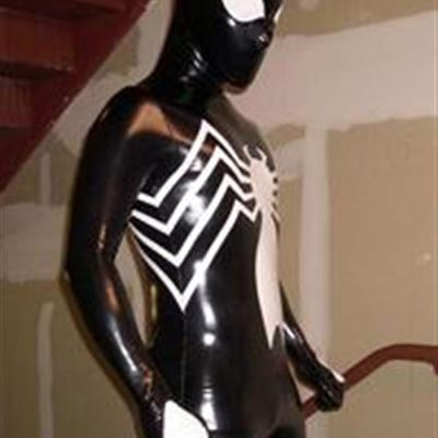 Gay Spandex Lycra Lycra hood photos