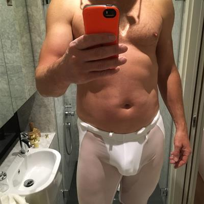 May, 2016's top guy hardbulge wearing Body Wear See thru